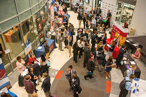 2015 Cameron School of Business Career Event