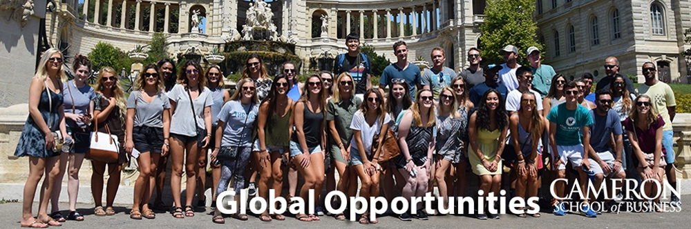 Cameron School students studying abroad in Europe