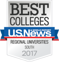 US News Best Universities South 2017