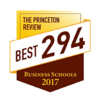The Princeton Review Best 294 Business Schools 2017 logo