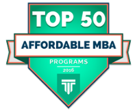 Top 50 Affordable MBA 2016