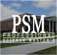 Professional Science Master's Degree